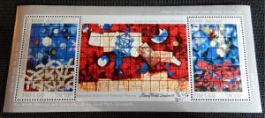 Israel #1041 Eternal Peace Souvienir Sheet