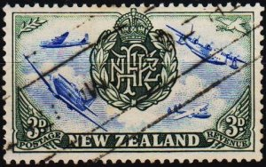 New Zealand. 1946 3d S.G.671  Fine Used