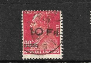 FRANCE  1928   10f on 90c  RED AIR  FU    SG 464