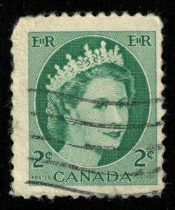 Queen Elizabeth II, Canada, 2 cents,  (T-5776)
