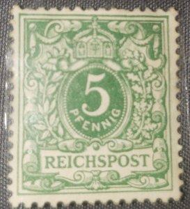 German realm crown/ eagle 1889