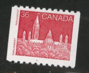 Canada Scott 953 MH* coil stamp