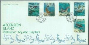 84355 - ASCENSION - Postal History - FDC COVER 1994 Prehistoric Aquatic Reptiles