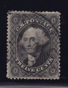 36 F-VF used used neat cancel with nice color cv $ 325  ! see pic !