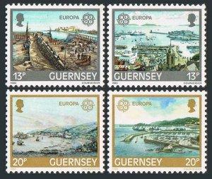 Guernsey 260-263.Michel 265-268. EUROPE CEPT-1983.St Peter Port Harbor.