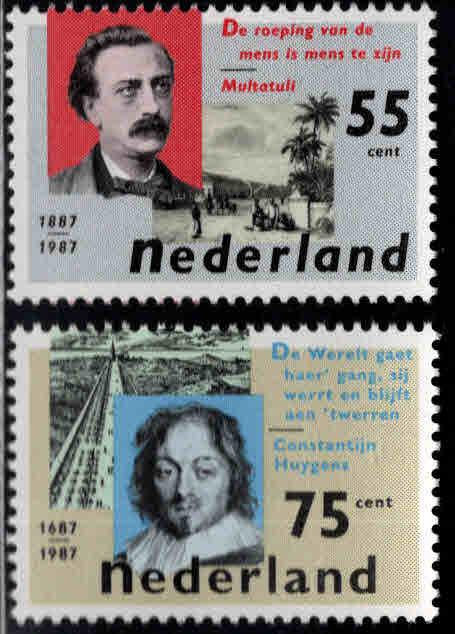 Netherlands Scott 713-714  MNH** 1987 set