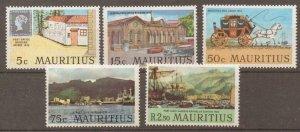 MAURITIUS SG419/23 1970 PORT LOUIS MNH