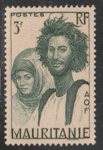 Mauritania #105 Mint Hinged Single Stamp