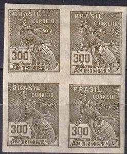 Brazil #335  MNH Imperf Block Of 4   V $80.00  (Z7193)