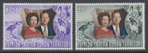 British Indian Ocean Territory 48-49 MNH VF