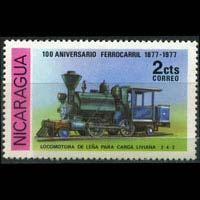 NICARAGUA 1978 - Scott# 1080 Locomotive 2c NH