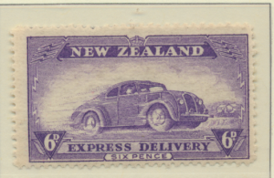 New Zealand Stamp Scott #E2, Mint Hinged - Free U.S. Shipping, Free Worldwide...