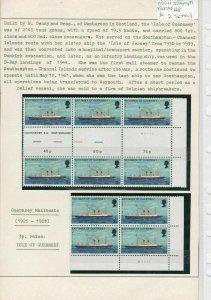 Guernsey MNH Stamps Blocks Ref: R6445