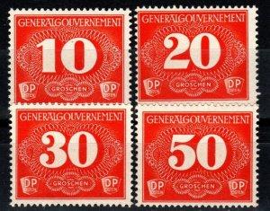 Poland #NL1-4  F-VF Unused CV $3.20 (X1008)