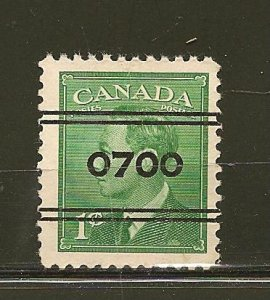 Canada 284 0700 Precancel Used
