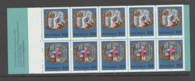 Sweden Sc 1190a 1976 Christmas stamp booklet mint NH
