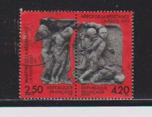 FRANCE #2364-65 STAMP USED YEAR 1993 - LOT#F40