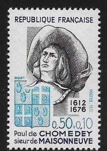 FRANCE, B455, MNH, PAUL DE CHOMEDEY 1612-1676