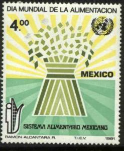 MEXICO 1254 World Food Day MNH
