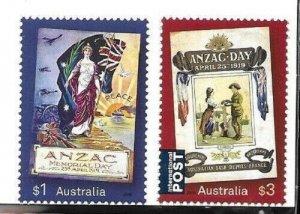 2019   AUSTRALIA  -  ANZAC DAY  -  UMM