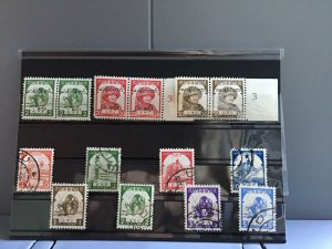 Japanese Occupation of Burma mint never hinged and used stamps   R25011