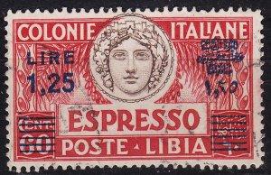 ITALIEN ITALY [Libyen] MiNr 0104 ( O/used )