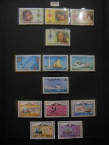 TURKS & CAICOS : Very nice collection of all different VFMNH Complete sets & S/S
