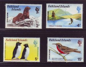 Falkland Islands Sc 227-0 1974 Tourist Publicity stamps NH