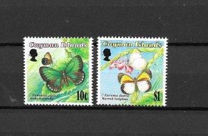 Cayman Islands MNH 686-7 Butterflies