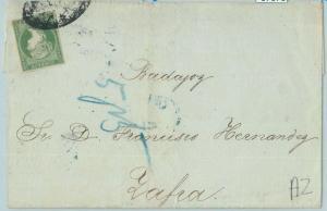 67678 - Spanish  HAVANA  - Postal History - VERY NICE  COVER  !  1859