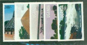 UGANDA 1530-4 MNH CV$ 6.25 BIN$ 3.25