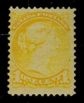 Canada #35 MINT F-VF OG HR Cat$55