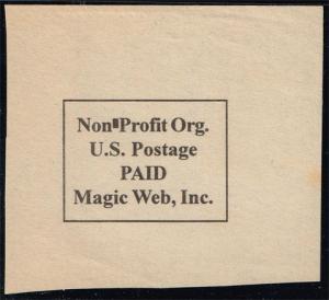 Non-Profit Permit Cut Square