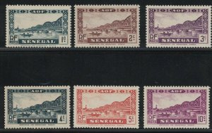 Senegal 142 - 147 -  Set Of 6. MNH. OG.   #02 SENE142s6