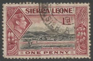 SIERRA LEONE 174 VFU Z7071-2