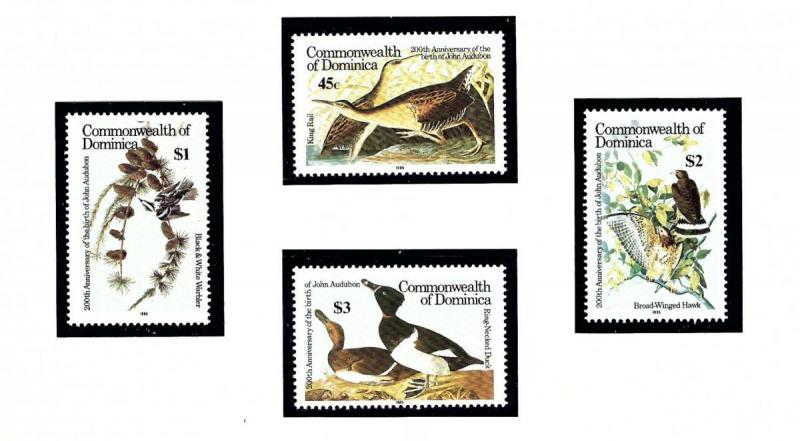 Dominica 891-94 MNH 1985 Birds