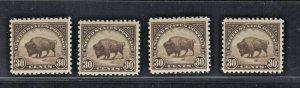 #569 Mint F-VF OG NH Post Office Fresh SCV. $50 (JH 8/23)