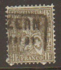 Switzerland #50 Used