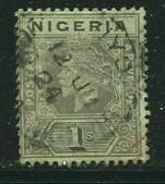 Nigeria #8a Used  (box1)