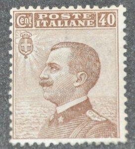 DYNAMITE Stamps: Italy Scott #104 – MINT hr