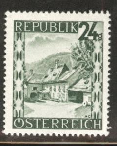 Austria Scott 465 MH* stamp from 1945-46 set