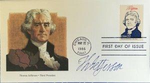 Fleetwood 2216 President Thomas Jefferson 3rd Louisiana Purchase