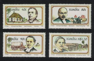 Namibia 125th Anniversary of Finnish Missionaries in Namibia 4v SG#667-670