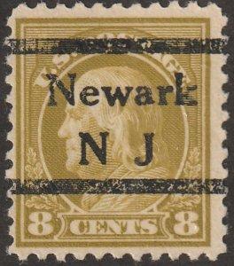 USA stamp, Scott#508, used, Washington, 8 cents. #ZA-11