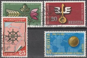 Switzerland #347-50 F-VF Used CV $7.00 (D1824)