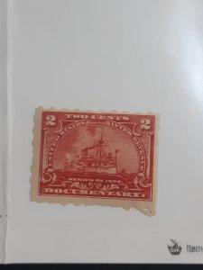 MINT U.S documentary stamp, OG/unused/NH
