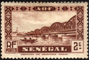 1935, Senegal, 2c, MHH, Sc 143