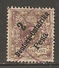 German East Africa  SC  6 Used