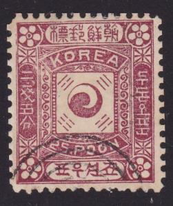 KOREA An old forgery of a classic stamp.....................................2356
