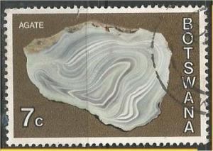 BOTSWANA, 1974, used 7c, Minerals Scott 119